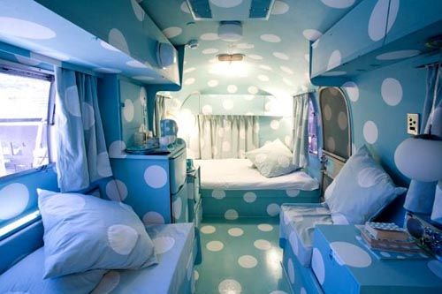 """The """"Dorothy"""" airstream trailer at the Grand Daddy Hotel, Cape Town, South Africa. #travel #unique #hotels"""