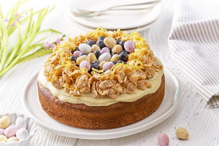 Wielkanocne Ciasto Cytrynowe. Poznaj przepis - kliknij w zdjęcie! #wielkanoc