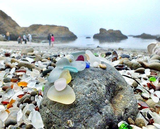 Fort Bragg, CA Sea glass
