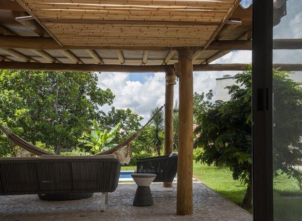 Bamboo House Una Casa Mediterránea En Brasil Backyard