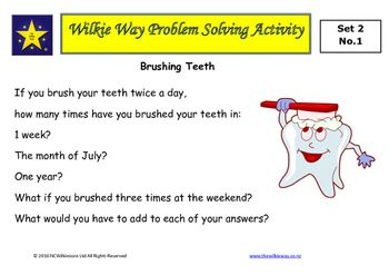 The second set of Wilkie Way problem solving activities for mastery of mathematics.These problems provide students the opportunity to apply known mathematics, create new mathematics and develop a deeper understanding of mathematical concepts. These tasks can be used with whole class with students working in pairs or small groups.