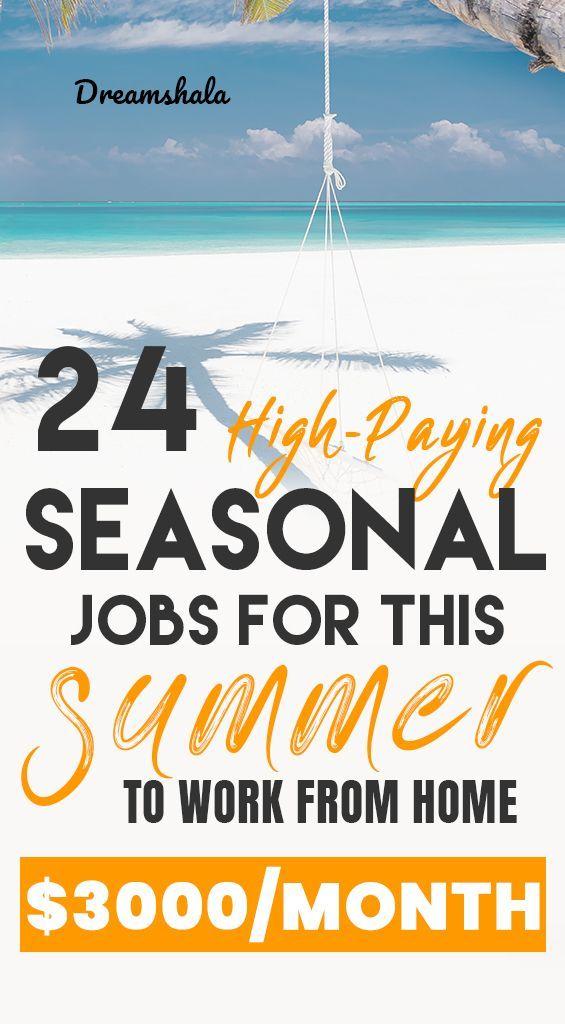 24 Legit Companies Offering Seasonal Work At Home Jobs