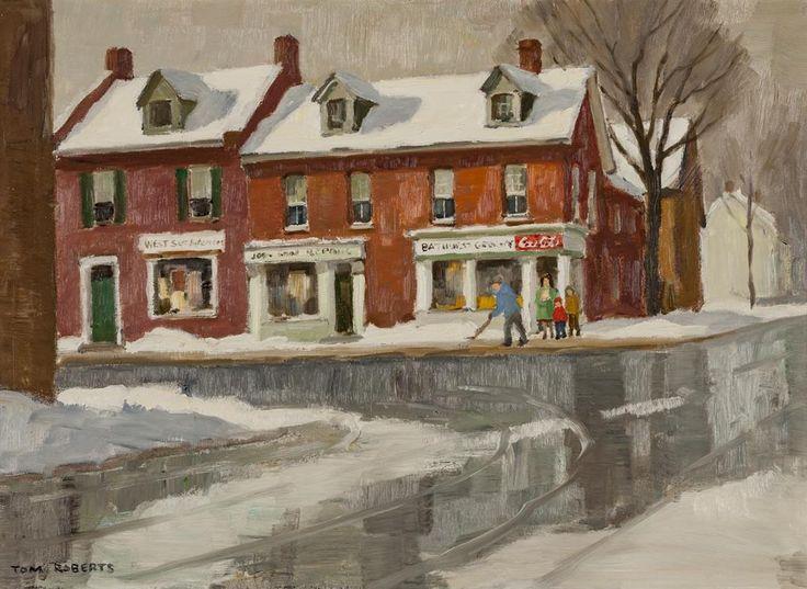 Tom Roberts; Bathurst at Richmond St.