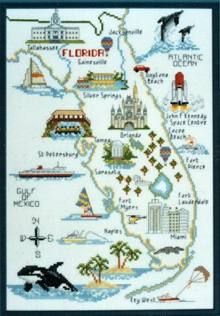 Best Cross Stitchstates USA Images On Pinterest Cross - Usa state map
