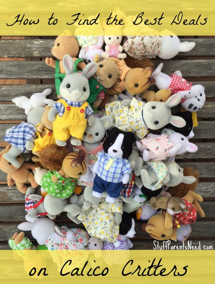 Discount Calico Critters How I Find Them Happy Put