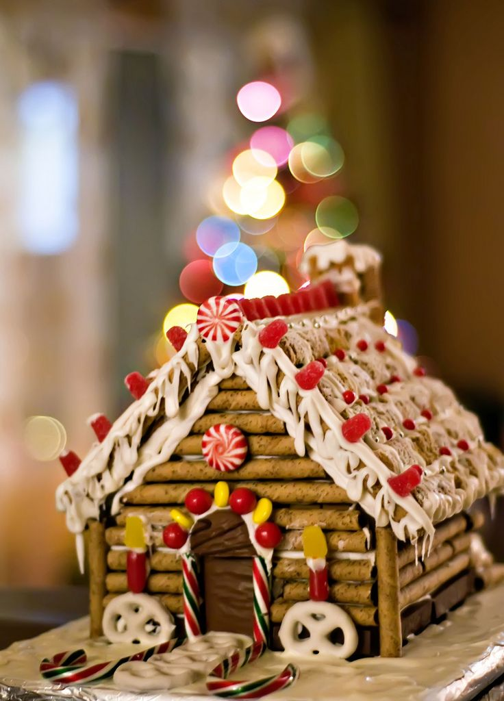All sizes | gingerbread log cabin | Flickr - Photo Sharing!