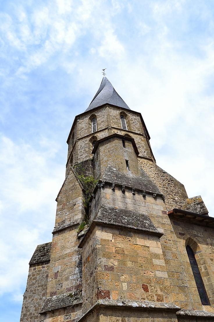 rochechouart  le clocher tors