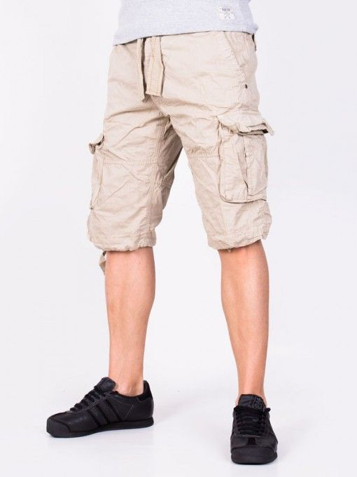 Pantaloni scurti barbati Outdoor Denim - bej