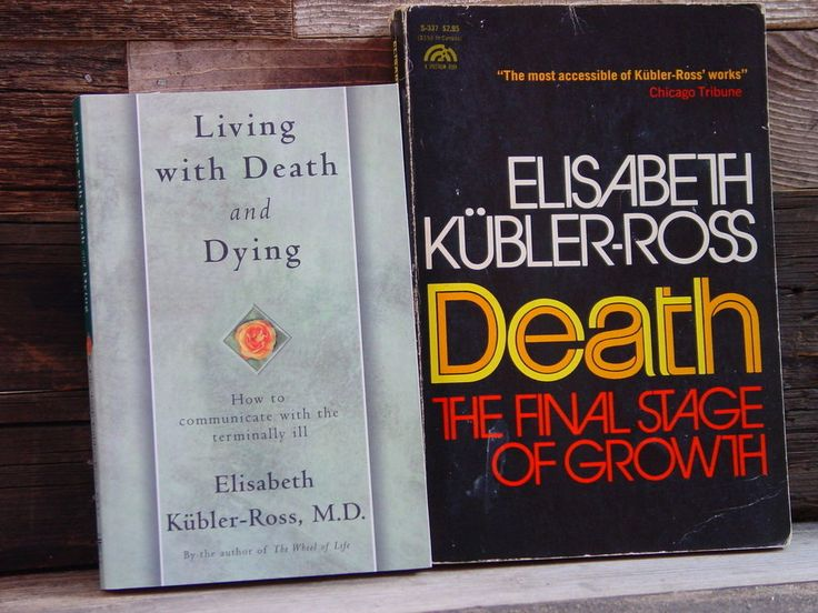 the stages of death in elizabeth kubler ross on death and dying The 5-stage model of death was developed by elizabeth kubler-ross this model identifies the five stages that terminally ill people experience when.
