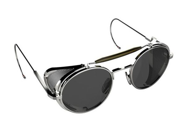 T hom Browne's eyewear line hit with a splash. We ogled it and then went o...