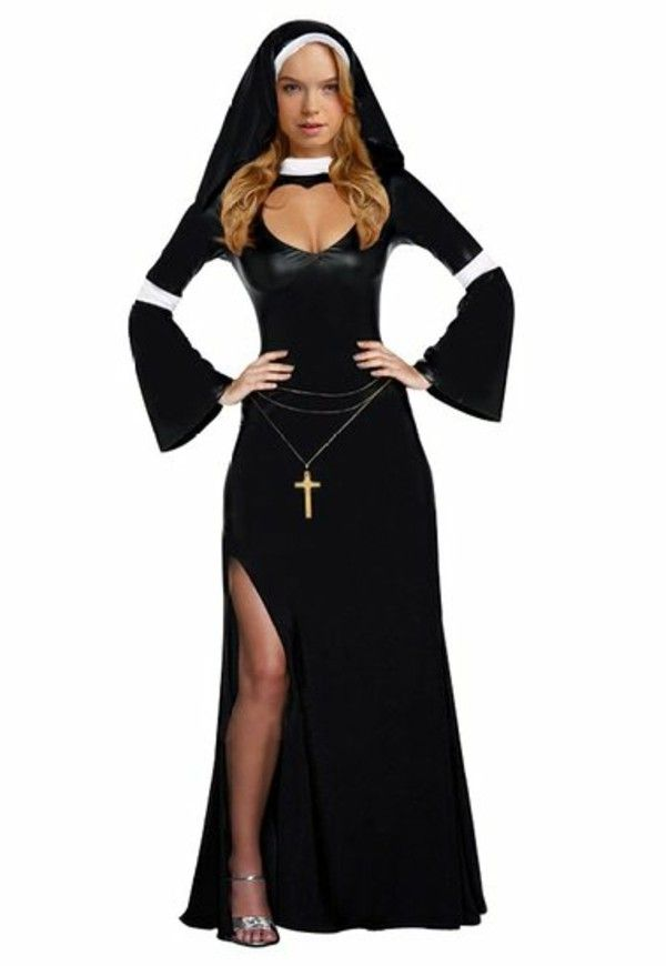 Women's costumes Carnival nun