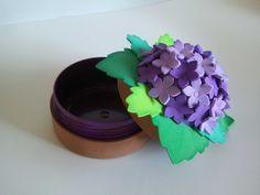 Miss Imperdibles: Broches y accesorios de Fieltro, Goma Eva, Foami, Fomi, Fofuchas y Fofulapices.: Cajas de Flores