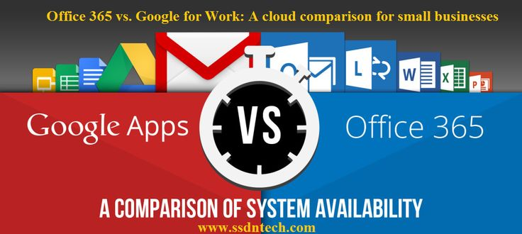 Office 365 vs. Google for Work: A cloud comparison for small businesses Microsoft and #Google propose small-price #cloud implements for small- and medium-size businesses, but each of their offerings has exclusive strengths and weaknesses.  #IT #Microsoft #Training #office365