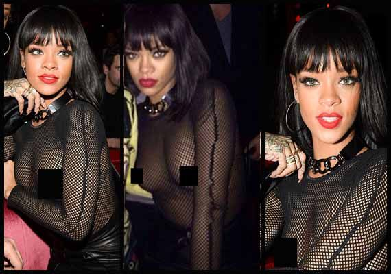 Rihanna's dress that made heads turn (see pics)
