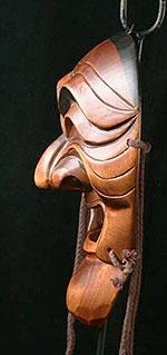 tradional korean masks   Yangban mask from Hanhoe, Korea