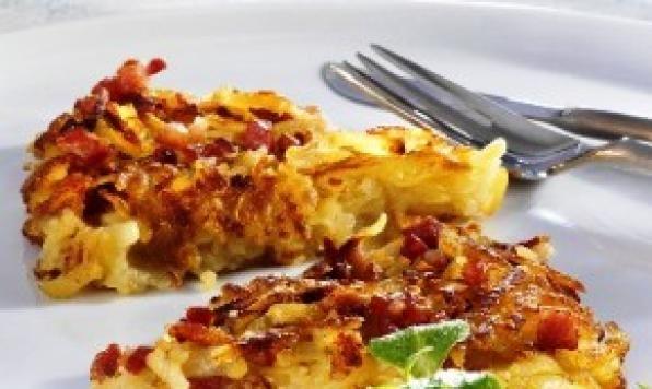Appehtite - Farmhouse Potato, Bacon Pie