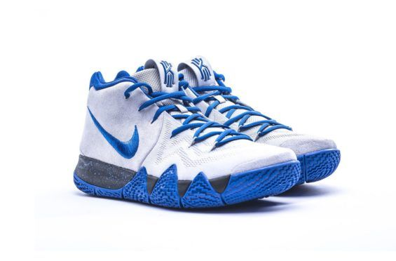 70210089b77b The Nike Kyrie 4 Duke PE Is Full Of School Spirit Although Kyrie s time at  Duke