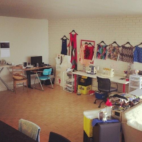 Studio 9b makeover!  (Taken with Instagram)