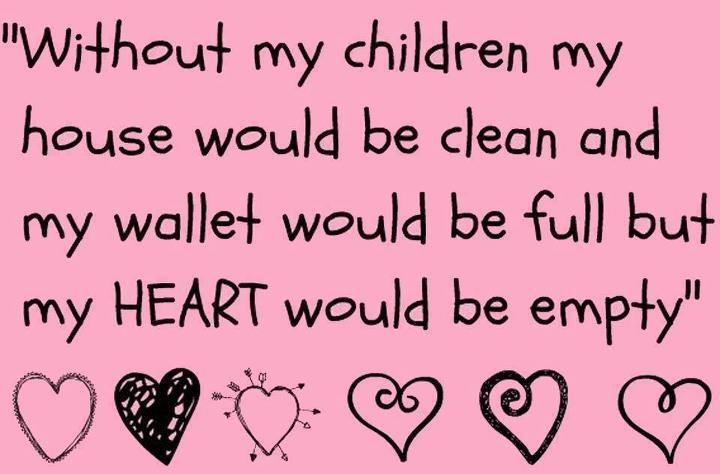Love, love, love my babies!Wallets, My Heart, Be A Mom, So True, My Children, Kids, House, Mom Quotes, True Stories
