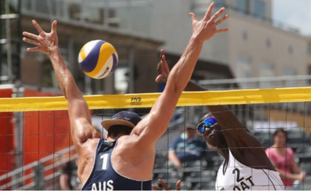 Qatar Lose To Australia In FIVB Beach Volleyball World ...
