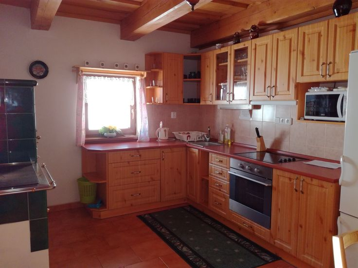 Kuchyně chalupa Kobylská.