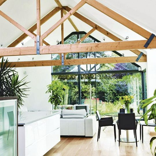 26 best images about vaulted ceilings on pinterest decks for Vaulted kitchen designs