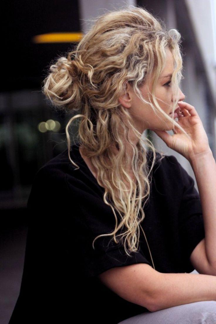 awesome Шикарные кудрявые волосы: короткие и длинные стрижки (50 фото) Читай больше http://avrorra.com/kudrjavye-volosy-strijky-foto/
