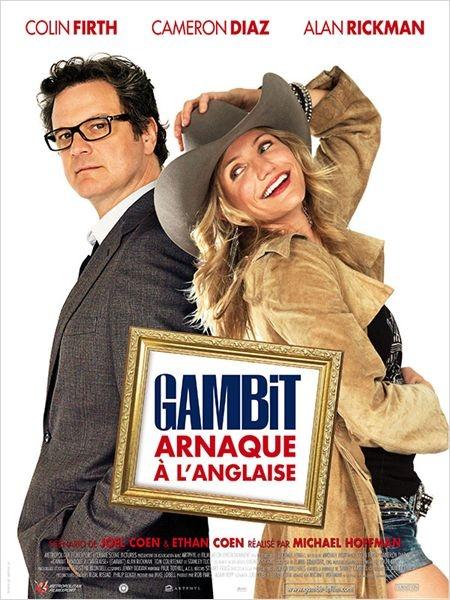 Gambit, arnaque à l'anglaise : un truc à la panthère rose, c'était franchement pas top, pas super drôle, même si Colin firth est très bon comme d'hab, mais clairement pas son meilleure film ^^
