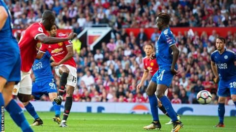 Marcus Rashford produced a great finish to lift the home support inside Old Trafford v Leicester