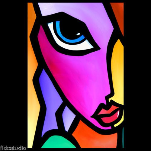 298 best images about Art - Abstract faces on Pinterest