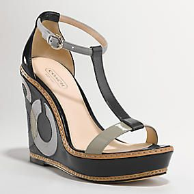 Coach: Wedges Heels, Black Beans, Coach Shoes, 2Dayslook Wedgesfashion, Wedges Shoes, Sandals, Wedgesfashion Www2Dayslookcom, Coach Wedges, Shoes Shoes