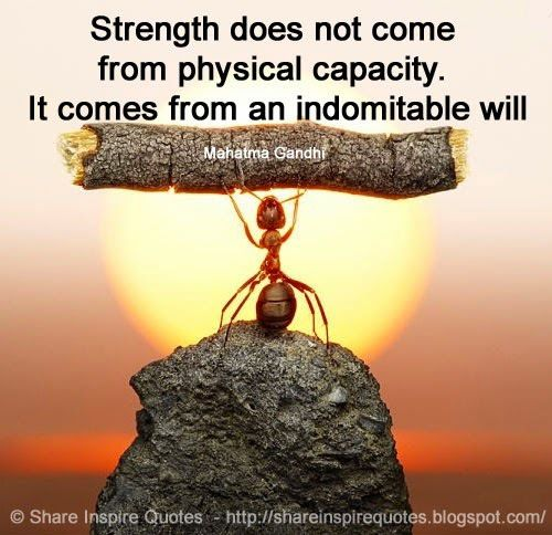 famous people, quotes, and strength image