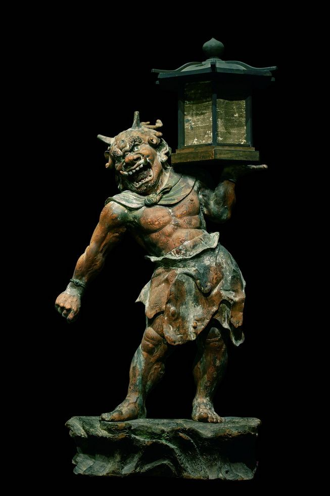 国宝 天燈鬼立像(奈良・興福寺) 鎌倉時代・建保3年(1215)