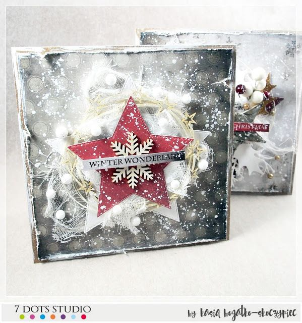 Christmas card for 7 Dots Studio - by Kasia Bogatko