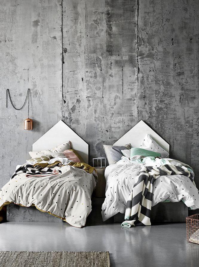 Décor minimaliste: 10 règles à respecter | CHEZ SOI Photo: ©aurahome.com.au #deco #style #minimaliste #epure #regles #conseils #chambre