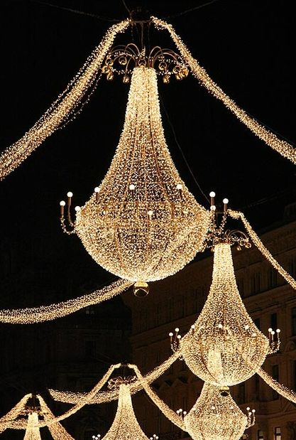 Outdoor Lighting: I'd like to do something like this for a New Years Eve party...