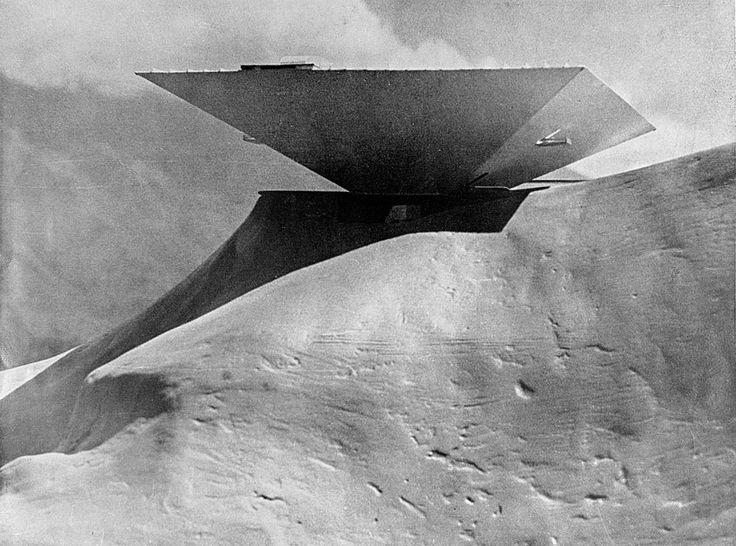 Niemeyer - MUSEU DE ARTE MODERNA EM CARACAS :: Fundação Oscar Niemeyer …