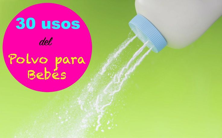 30 usos del polvo para bebes para trucos en el hogar