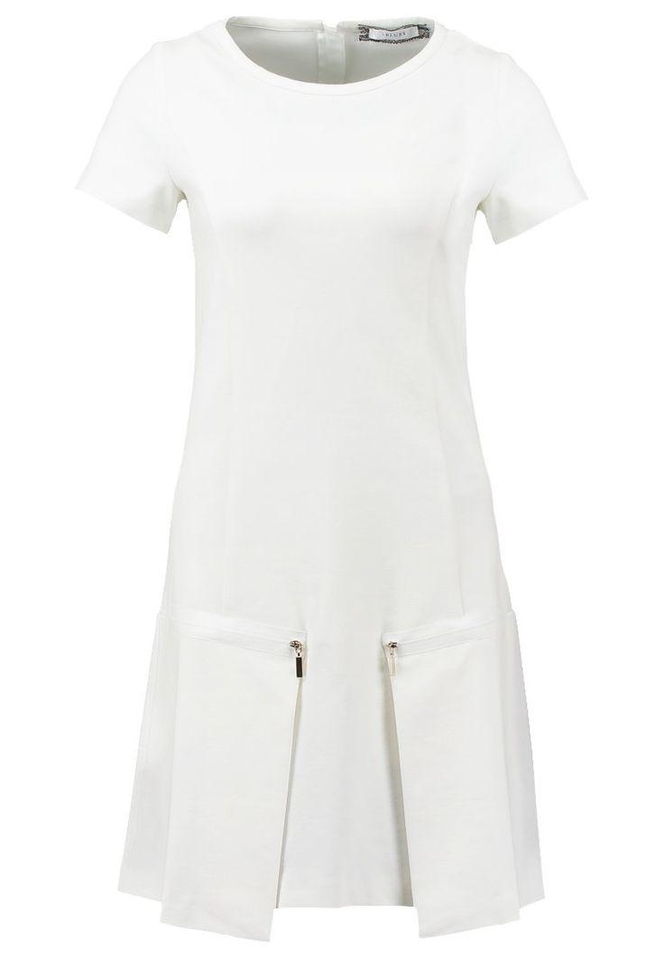 iBlues QUIRINO Sukienka z dżerseju white