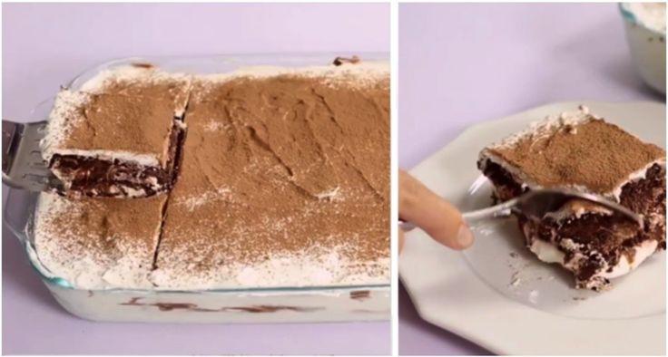 Recept na vrstvený dezert pre celú rodinu je skutočne neodolateľný!
