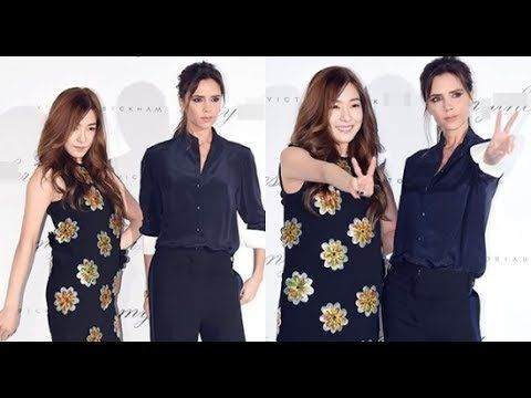 (SNSD) Tiffany and Victoria Beckham to join the party 'Mytheresa Victori...
