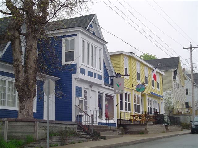 Chester, Nova Scotia where Haven is filmed