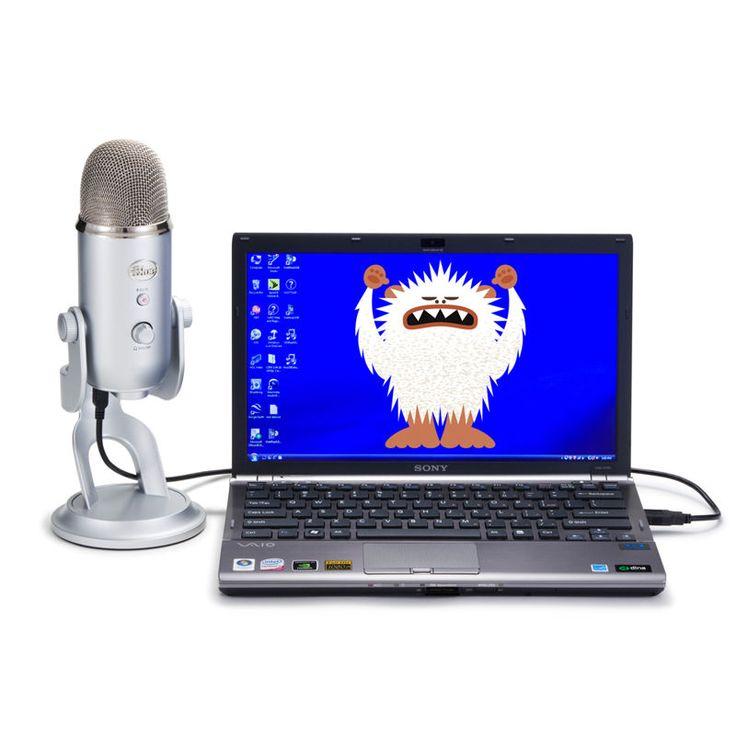 Mikrofon pojemnościowy USB Blue Yeti