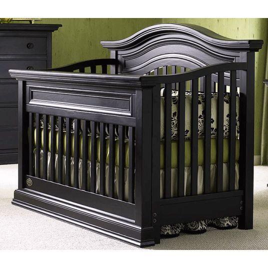 Bonavita sheffield lifestyle crib in distressed black for Bonavita nursery furniture