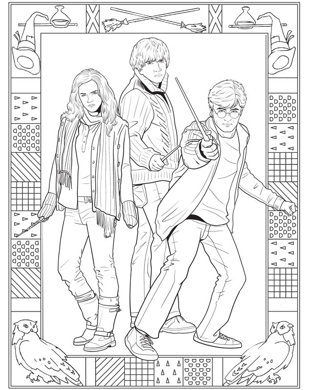 2165 best harry, harry, harry images on pinterest | harry potter ... - Harry Potter Coloring Pages Ginny