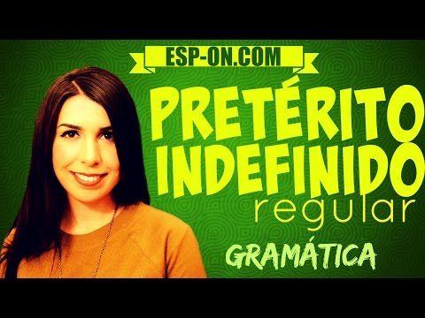Lezioni di Spagnolo 20 - Verbi Pretérito Indefinido (Regular) - YouTube