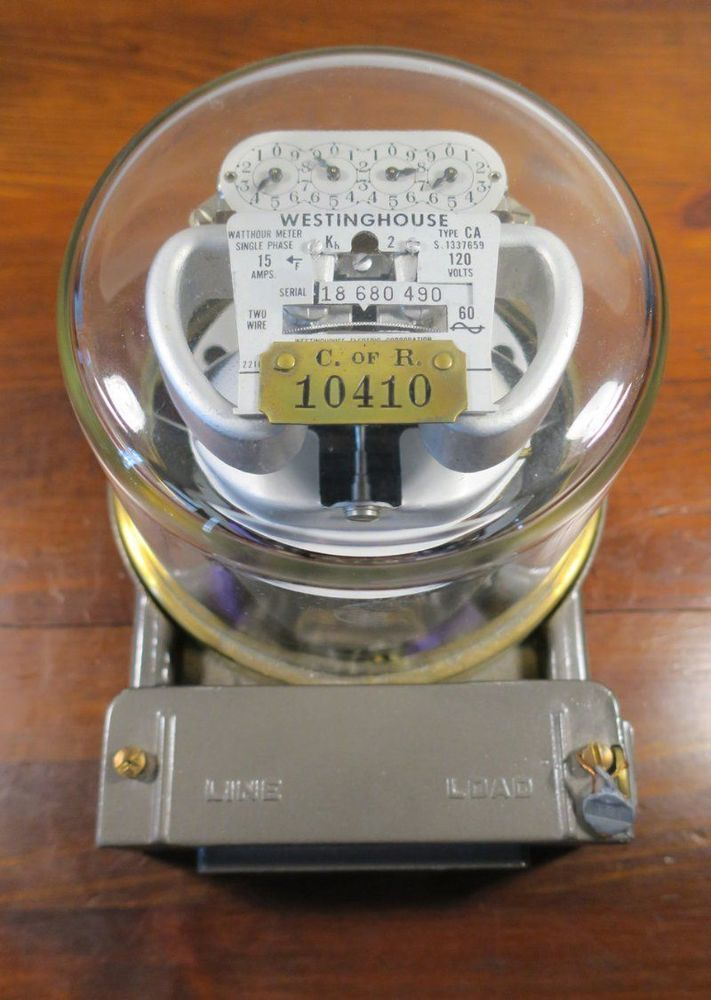 1946 Westinghouse Electric CA Type Watthour Meter #Westinghouse