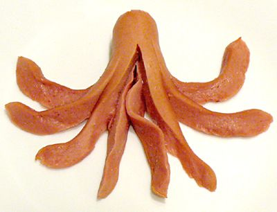 6 Steps to Making a Hot Dog Octopus: How to Make Hot Dog Octopus - Step 5