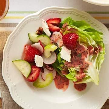strawberry vinaigrette basil vinaigrette strawberry basil vinaigrette ...