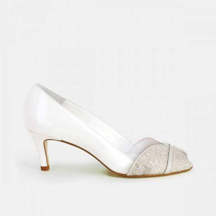 Chaussures mariage petits talons Jonak